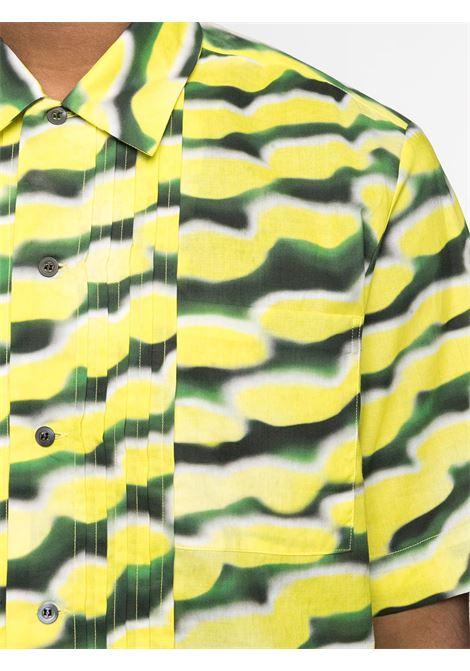 Camicia con pieghine sulla parte frontale DRIES VAN NOTEN | Camicia | CAMILLO2081202