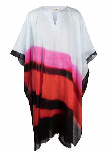 Caftano unisex con stampa multicolor Len Lye DRIES VAN NOTEN | Caftano | CARTLAND2012352