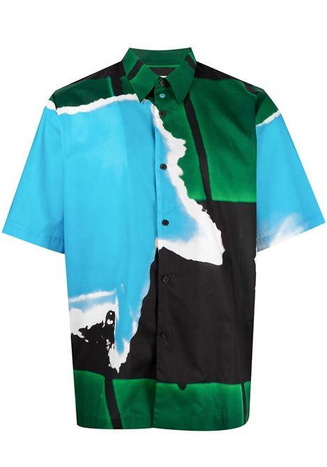 Camicia mezza manica con stampa DRIES VAN NOTEN | Camicia | CLASENBIS2063504