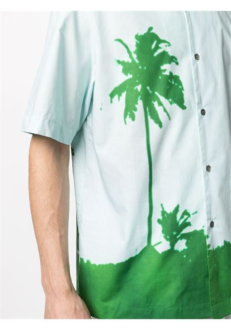 Camicia mezza manica con stampa DRIES VAN NOTEN | Camicia | CLASENBIS2066604