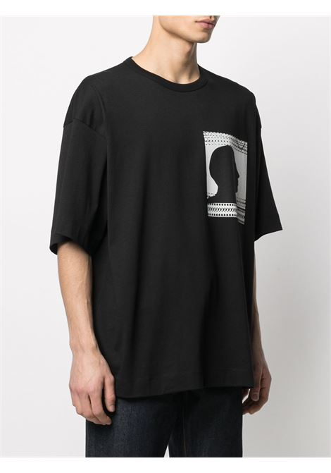 T-shirt con stampa DRIES VAN NOTEN | T-shirt | HEKISPR2600900