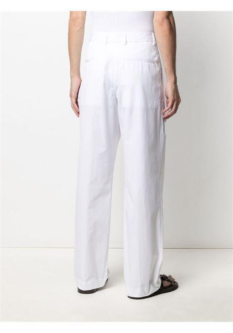 Pantalone in cotone con gamba ampia dritta DRIES VAN NOTEN | Pantalone | PAX2228001