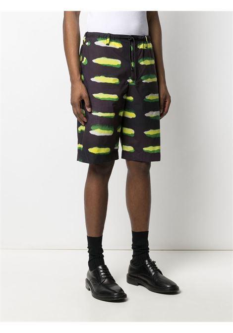shorts con elastico in vita , stampa LEN LYE DRIES VAN NOTEN | Pantalone | PENNYSHORT2005900