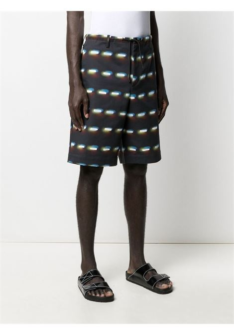 shorts con stampa Len Lye DRIES VAN NOTEN | Pantalone | PENNYSHORT2024900