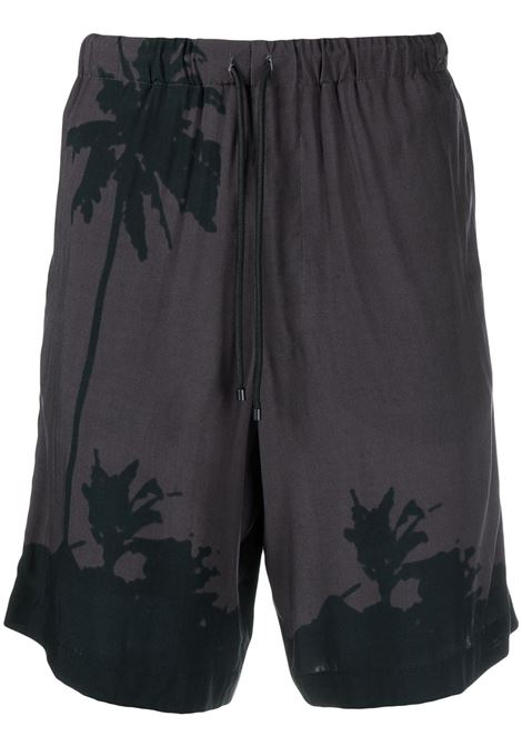 Shorts con stampa tropicale DRIES VAN NOTEN | Shorts | PIPERI2003802