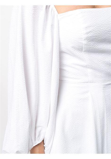 abito corto scollato con manica lunga a sbuffo FEDERICA TOSI | Abito | FTE21AB023.0PP00460001