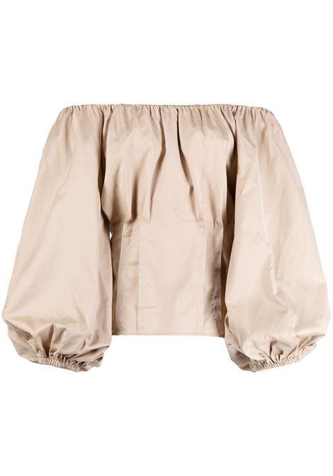 Blusa con maniche lunghe a palloncino FEDERICA TOSI | Blusa | FTE21BL067.0PP00380006