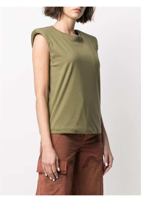 T-shirt con spalline FEDERICA TOSI | T-shirt | FTE21TS003.0JE00810007