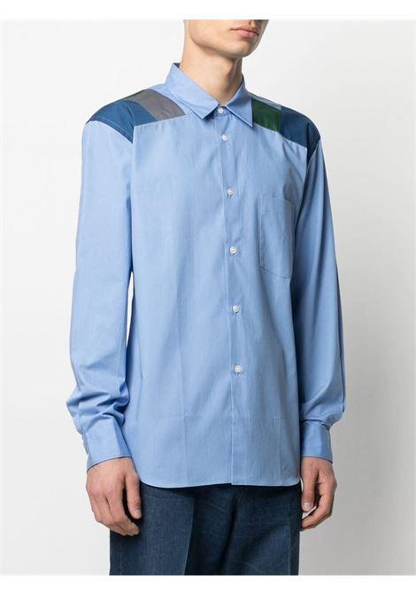 Camicia con design color-block HOMME DEUX COMME DES GARCONS | Camicia | DG-B026-0511