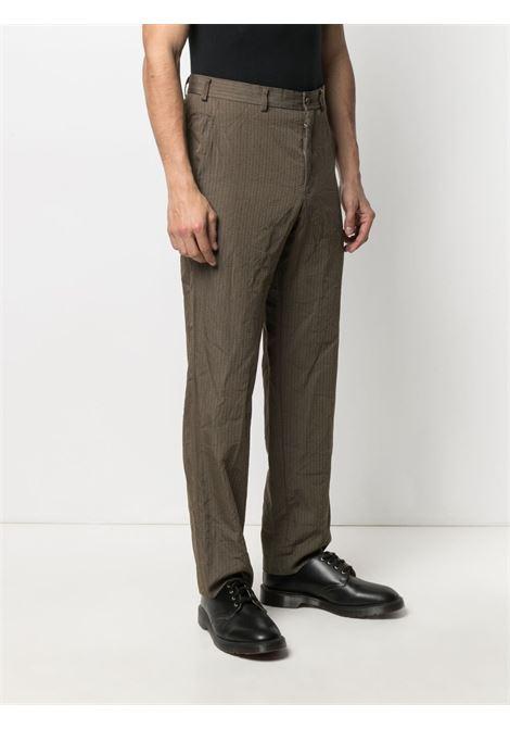 Pantaloni a righe con effetto stropicciato HOMME DEUX COMME DES GARCONS | Pantalone | DG-P022-0511
