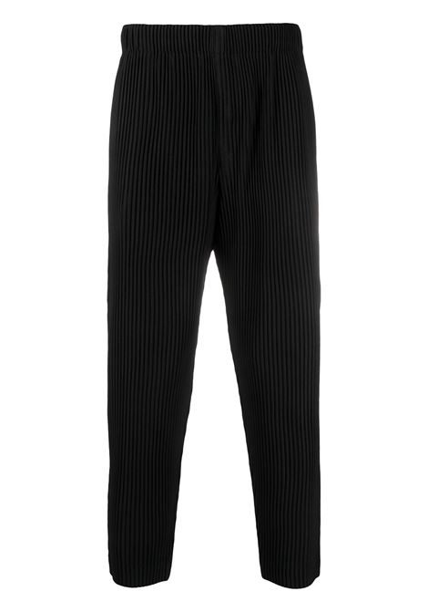 Pantaloni plissettati con vita alta elasticizzata HOMME PLISSE | Pantalone | HP16JF10815