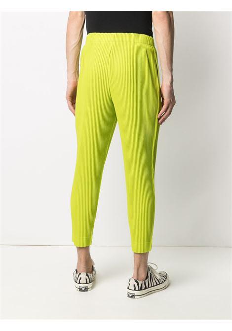 Pantaloni plissettati con vita alta elasticizzata HOMME PLISSE | Pantalone | HP16JF10861