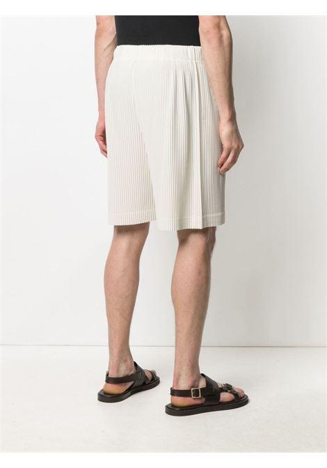 Shorts plissettati con vita elasticizzata con coulisse HOMME PLISSE | Shorts | HP16JF13303