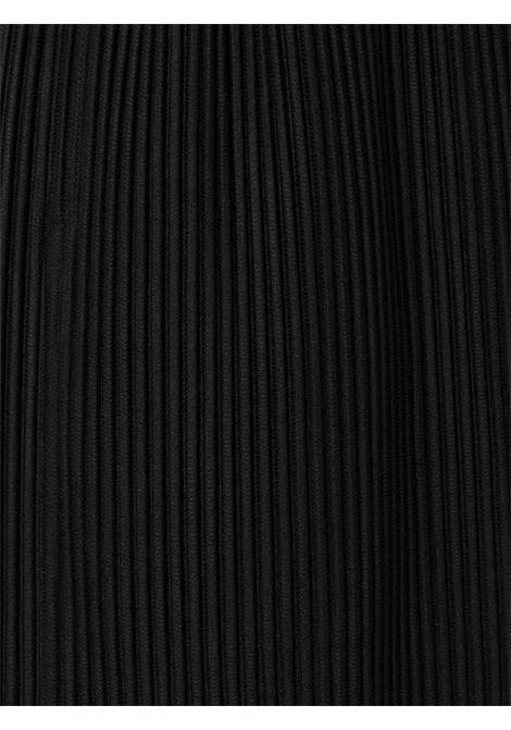 Shorts plissettati con vita elasticizzata con coulisse HOMME PLISSE | Shorts | HP16JF13315