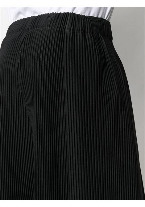 Shorts plissettati con vita elasticizzata HOMME PLISSE | Shorts | HP16JF13415