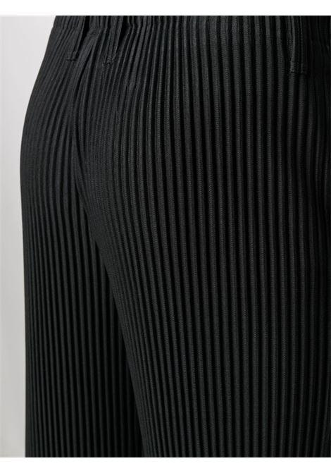 Pantaloni plissettati con vita elasticizzata HOMME PLISSE | Pantalone | HP16JF15015