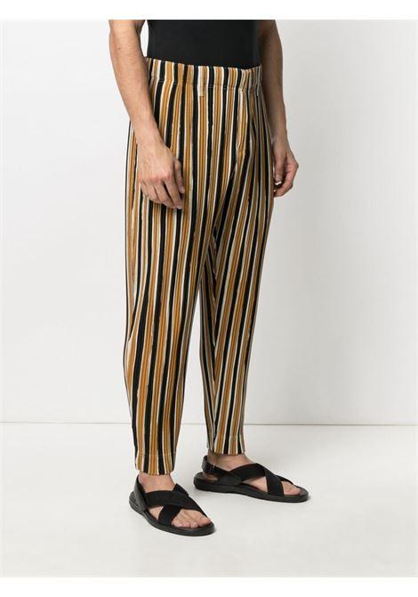 Pantaloni plissettati a righe HOMME PLISSE | Pantalone | HP16JF20542