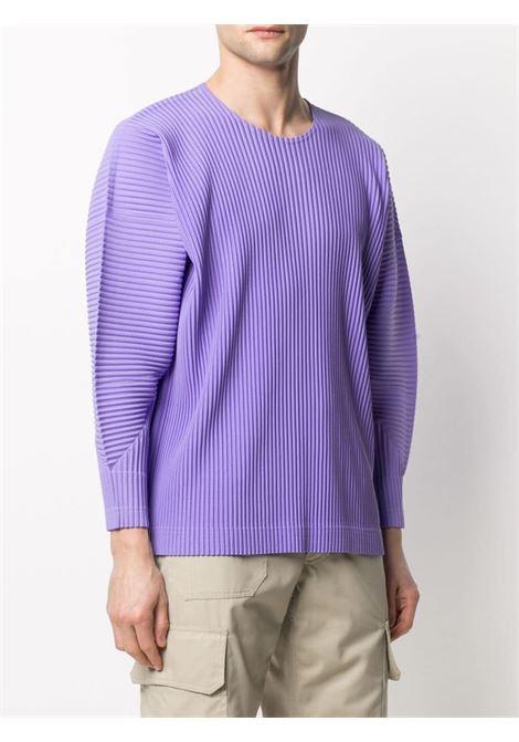 T-shirt plissettata HOMME PLISSE | T-shirt | HP16JK10781
