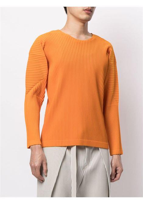 T-shirt plissettata HOMME PLISSE | T-shirt | HP16JK11133