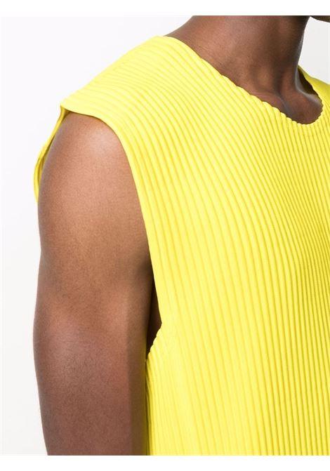 canotta girocollo con tasche HOMME PLISSE | T-shirt | HP16JK12651
