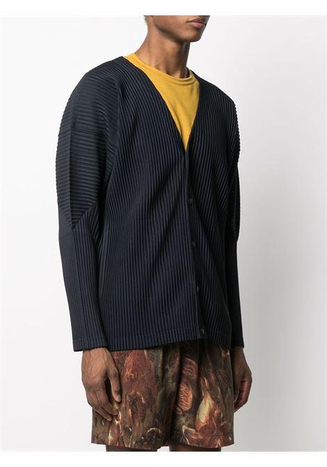Cardigan plissettato HOMME PLISSE | Cardigan | HP16JL14175