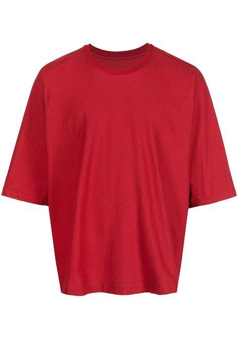 t-shirt manica corta oversize HOMME PLISSE | T-shirt | HP17JK30924