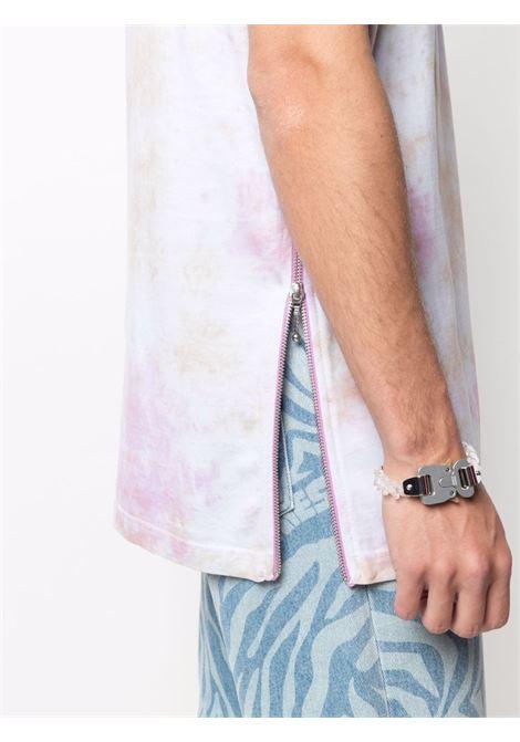 t-shirt mezza manica con zip laterali HONEY FUCKING DIJON | T-shirt | HFD03T0021