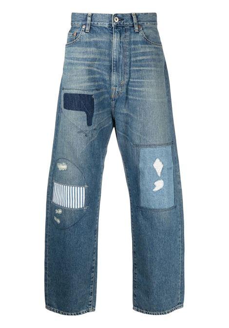 Jeans 5 tasche modello con toppe JUNYA WATANABE MAN DENIM | Jeans | XG-P103-0511