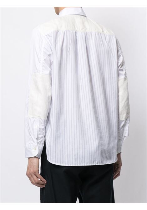 camicia manica lunga in doppio materiale di cotone JUNYA WATANABE MAN | Camicia | WG-B026-0511