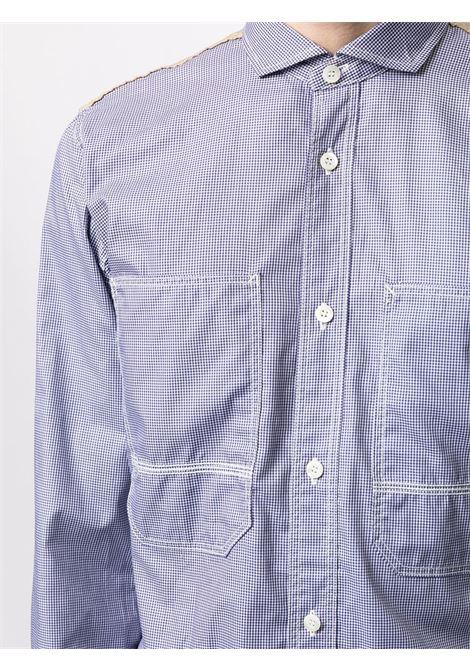 Camicia con più stampe JUNYA WATANABE MAN | Camicia | WG-B037-0511