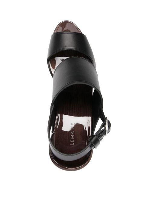 Sandali con plateau e cuciture a contrasto LEMAIRE | Scarpe | W211FO282LL168999