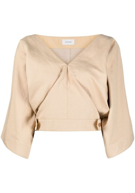 Top corto con scollo a V LEMAIRE | Top | W211TO296LF546215