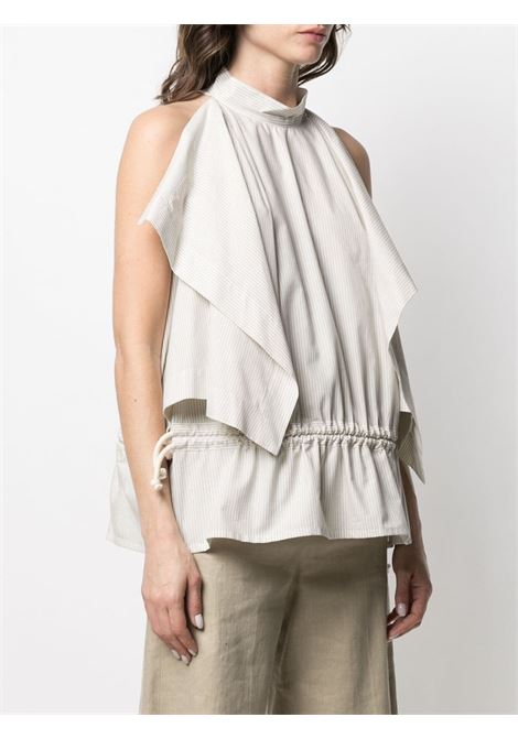 Top smanicato con colletto alla coreana LEMAIRE | Top | W211TO404LF559907