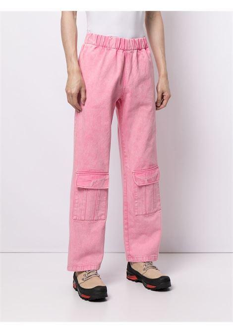 Pantaloni unisex con vita alta elasticizzata LIBERAL YOUTH MINISTRY | Pantalone | PT20CP20