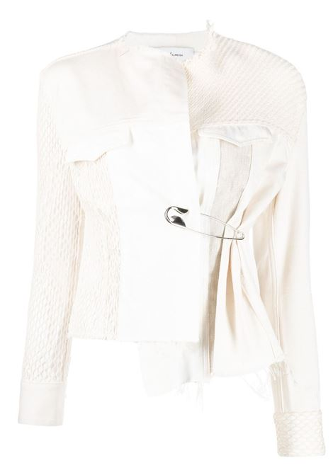 giacchina con spillone MARQUES ALMEIDA | Giacca | JK0103DRLMULTI BEIGE