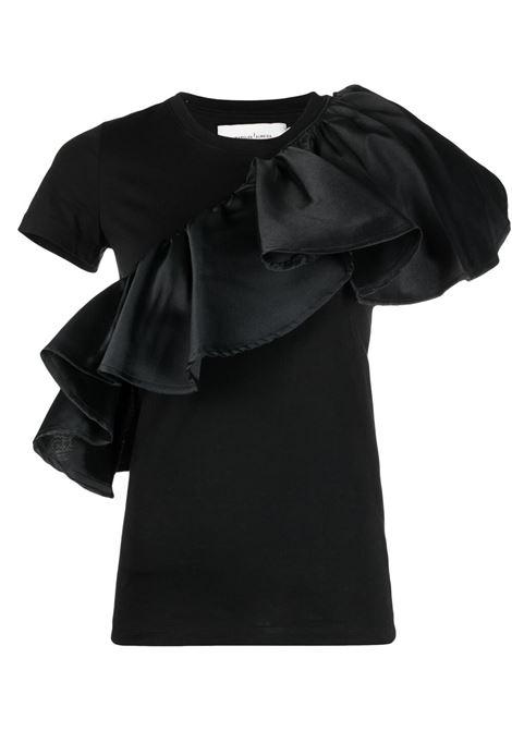t-shirt con volant MARQUES ALMEIDA | Top | TP0373JRSBLACK