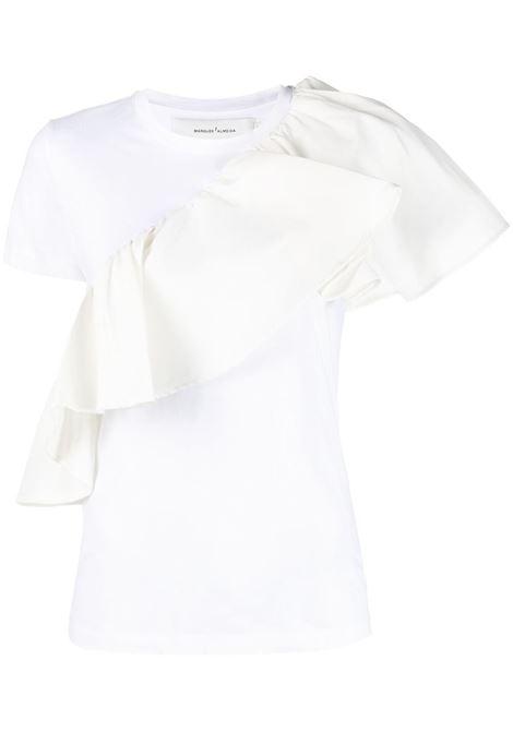 t-shirt con volant MARQUES ALMEIDA | Top | TP0373JRSWHITE