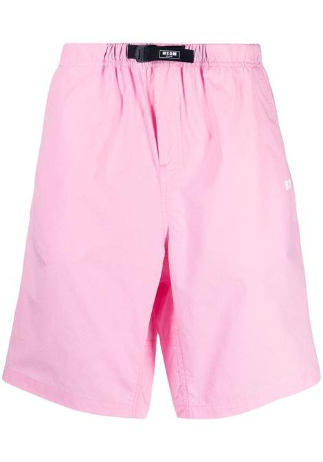 Shorts sportivi con logo applicato MSGM | Bermuda | MB05X21710412