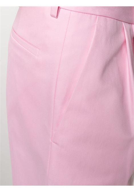 Shorts con applicazione con logo MSGM | Bermuda | MB0821710512