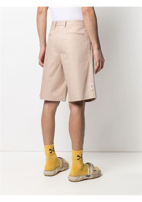 Shorts con applicazione con logo MSGM | Bermuda | MB0821710523
