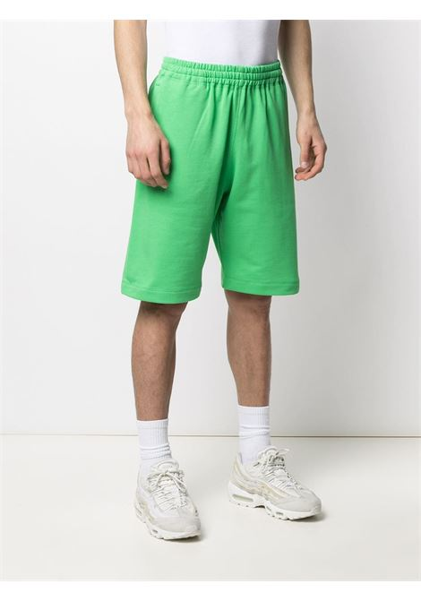 Shorts sportivi con logo applicato MSGM | Shorts | MB6121709936