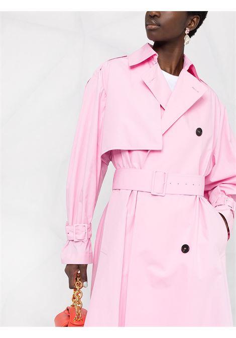Cappottino doppiopetto con cintura MSGM | Cappotto | MDC0521710412