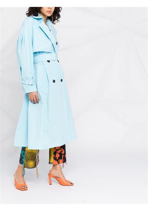 Cappottino doppiopetto con cintura MSGM | Cappotto | MDC0521710485