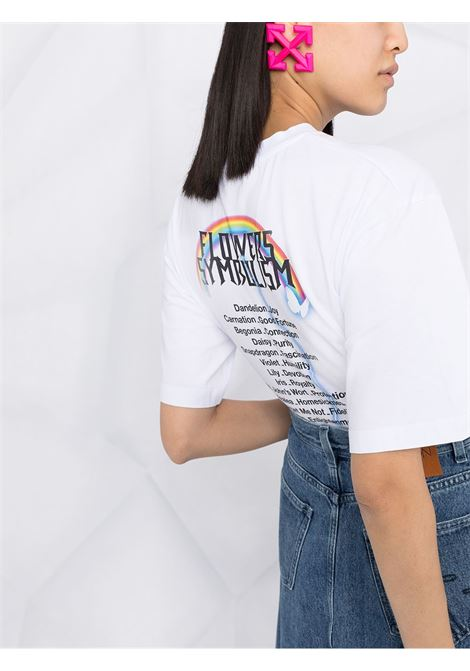 T-shirt con stampa MSGM | T-shirt | MDM16421729801