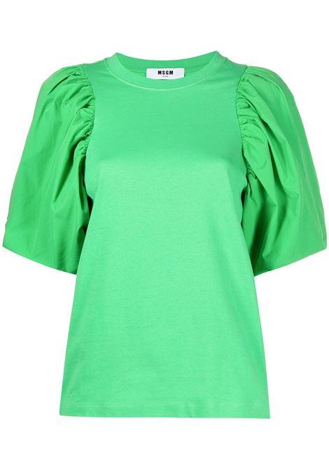 T-shirt con maniche a palloncino MSGM | T-shirt | MDM7521729836