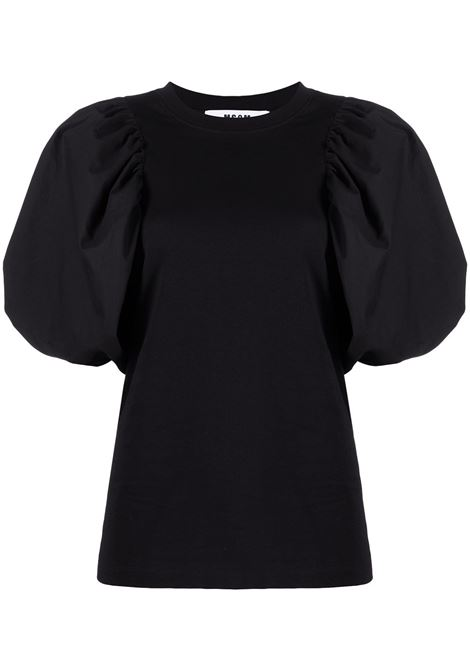 T-shirt con maniche a palloncino MSGM | T-shirt | MDM7521729899