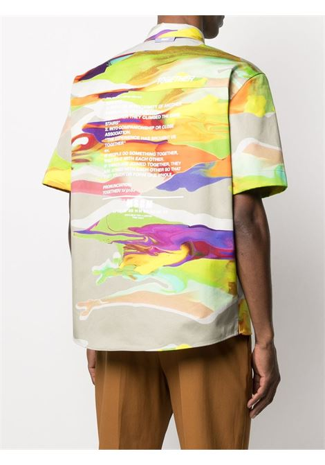 Camicia fantasia con logo MSGM | Camicia | ME22X21701023