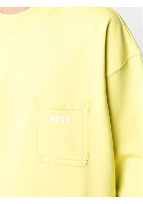 Felpa con logo MSGM | Felpa | MM7121709907