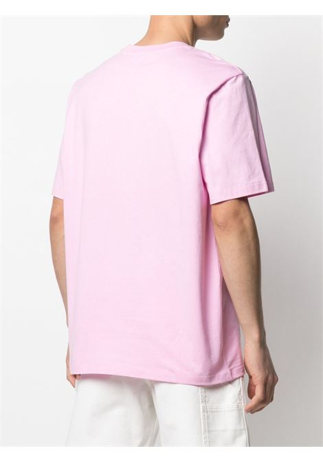 T-shirt con tasca con logo applicato MSGM | T-shirt | MM7321709812