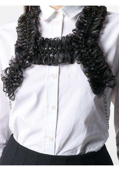 Harness con fiocchi e catene NOIR KEI NINOMIYA | Top | 3G-V006-0511